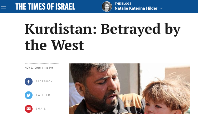 Kurdistan: Betrayed by the West