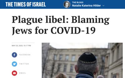 Plague Libel: Blaming Jews For COVID-19