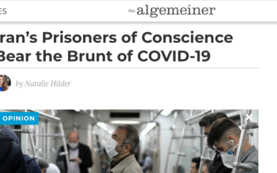 Iran's Prisoners of Conscience Bear the Brunt of COVID-19