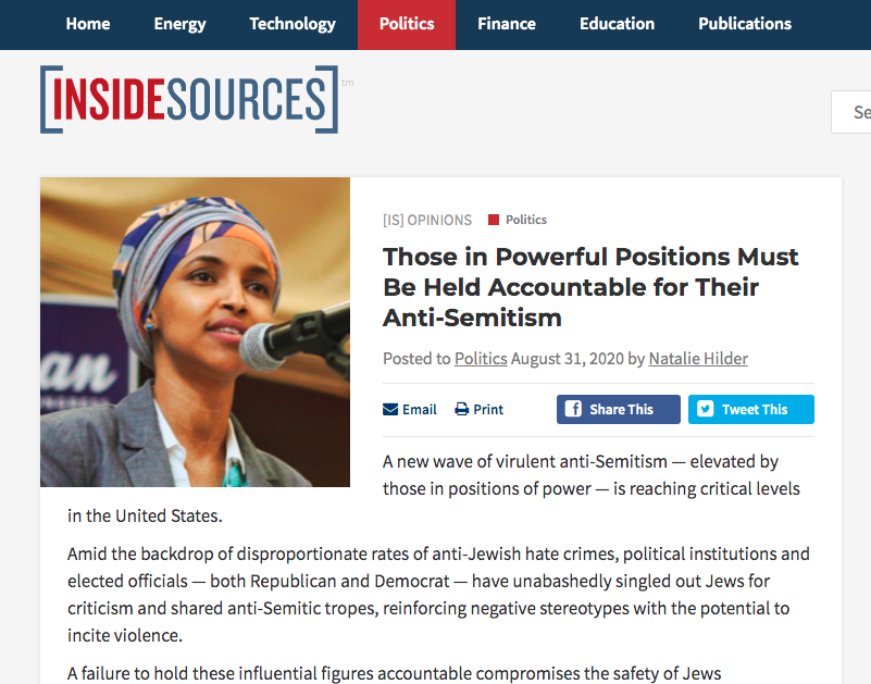 Those in Powerful Positions Must Be Held Accountable for Their Anti-Semitism
