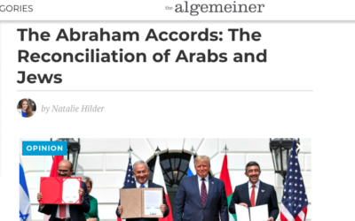 The Abraham Accords: The Reconciliation of Arabs and Jews